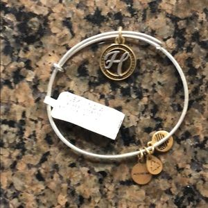 Alex and Ani initial H new with tag